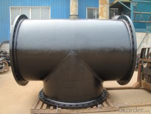 ductile cast iron pipe and fitting