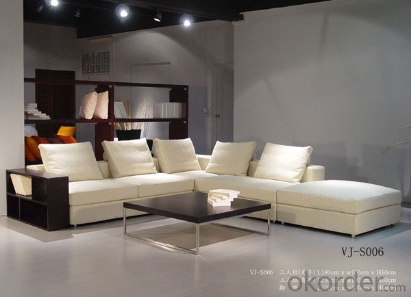 Golden quality modern leather sofa on sale