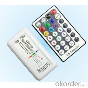 Plastic RF 28 Keys RGB controller