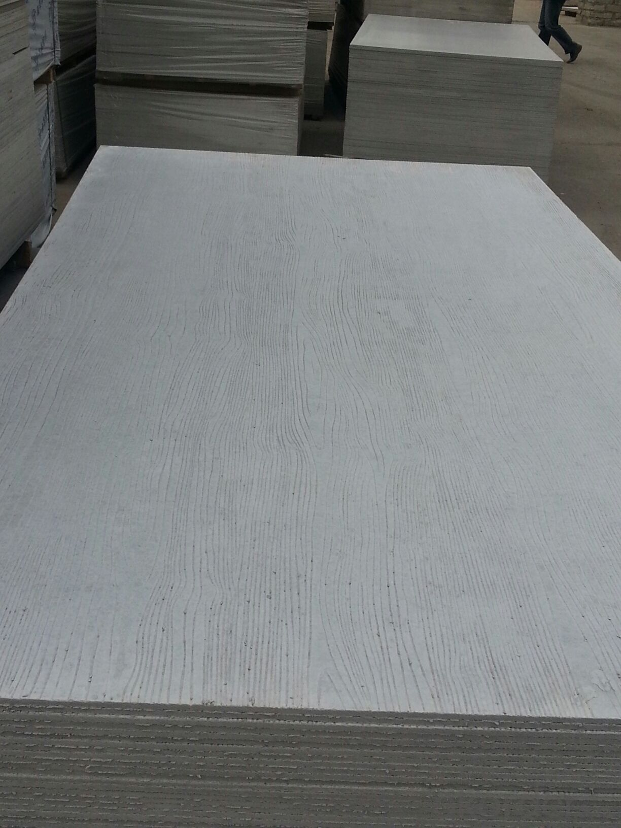 exterior wooden grain  board