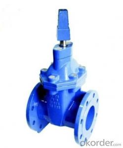 Ductile Iron soft resilient DIN3352F4 Gate Valve