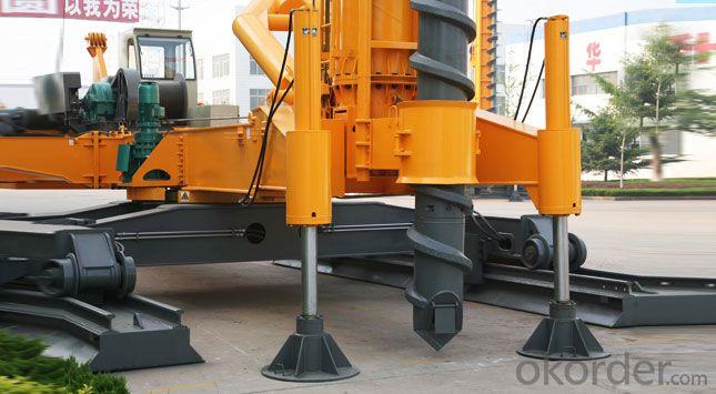 FANGYUAN Electric Crawler Pile Driver JZL60