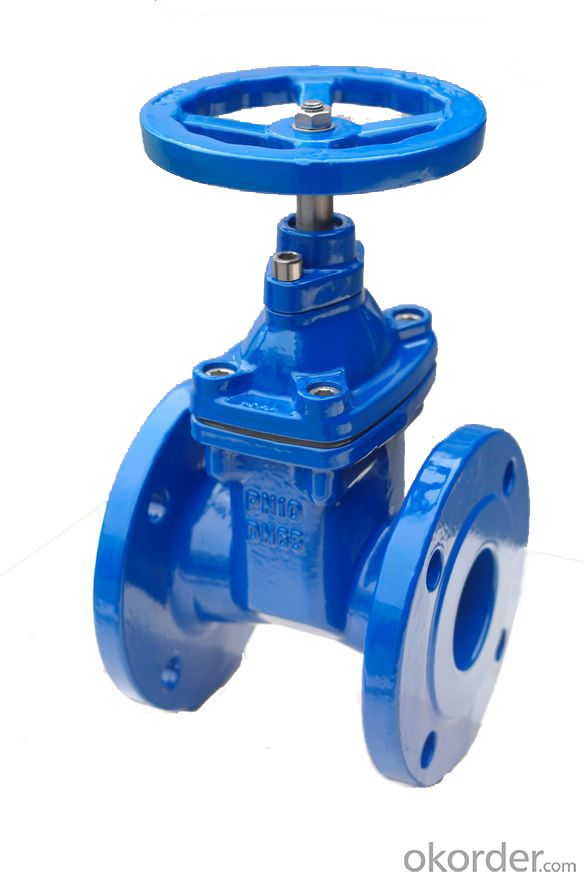 Elastic seat sealed gate valve