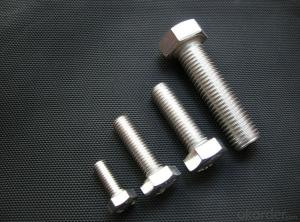 Bolts FULL THREAD M8-M24 ANSI HEX Made in China