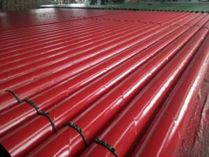 seamless 2PE steel pipe external coating