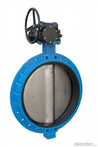 DUCTILE IRON BUTTERFLY VALVE DN1000