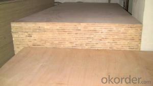 Okoume Wood Veneer Face block Board Falcata Core