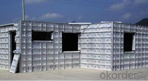 H10 Aluminum Beam Formwork Girder With 6063T5 Material