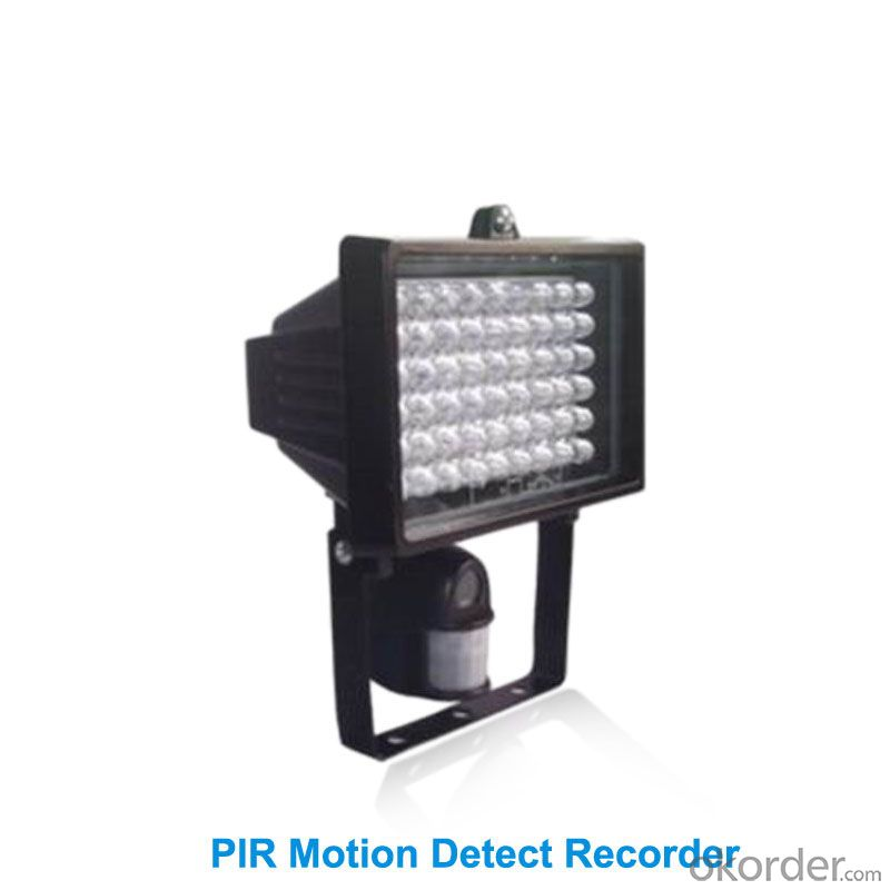 PIR Motion Detect Recorder with audio&video