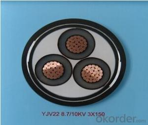 ZHONGMEI XLPE lnsulated Power Cable YJV22 8.7/10KV 3X150