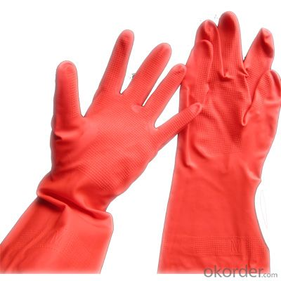 Wear-Resisting Nylon Lining Safety Working Nitrile Coated Glove