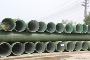 Underground GRP engineering pipe DN900