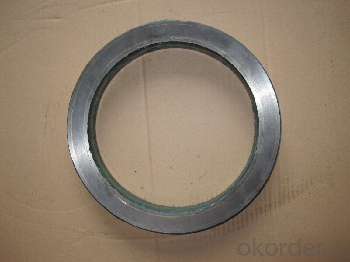 Tungsten Carbide Zoomlion Spectacle Plate DN230
