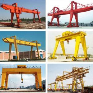 Mg Model Double Girder Portal Crane With Hook