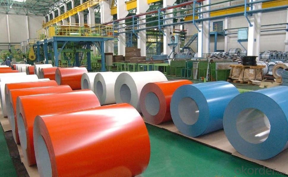 THE PRE-PAINTED GALVANIZED STEEL COILS