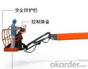 Self-propelled straight boom platform - 14meters