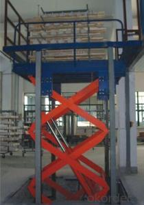 Hydraulic lift freight elevator-SJG Series