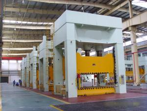 Single Slide Hydraulic Press for FRP Product