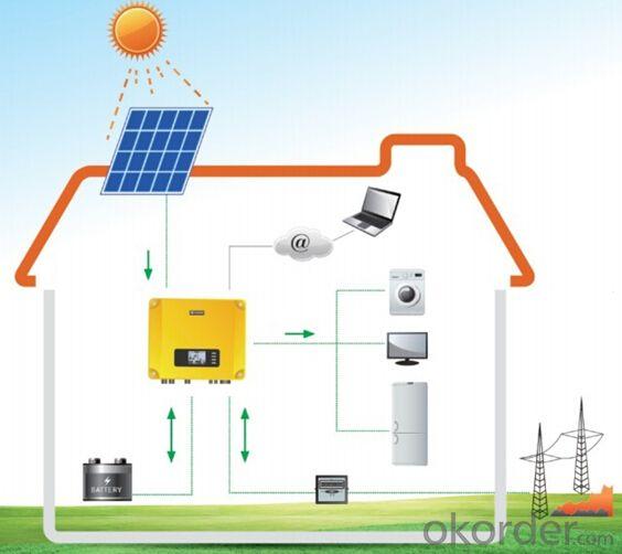 Hybrid solar inverter GW5048D-ES