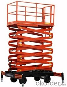 Scissor type Aerial work lifter-SJY 300 series