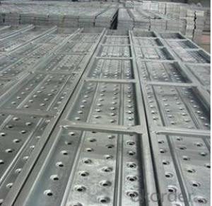 Scaffolding plank ringlock cuplock