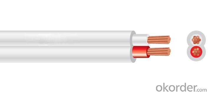 Flat TPS Cable PVC 450/750V 2C Copper AS/NZS 5000.2