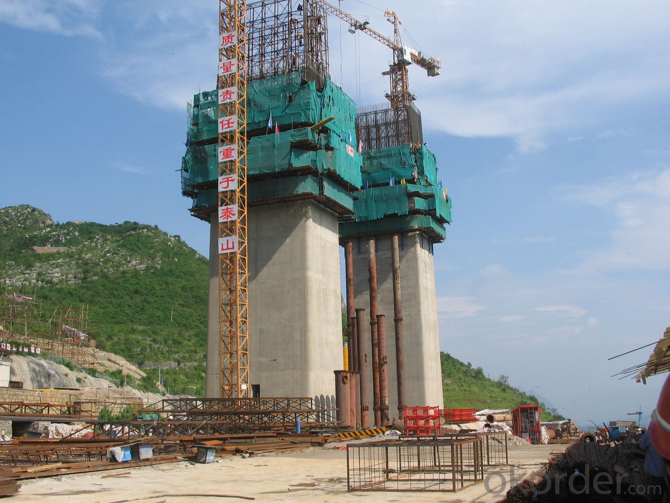 Waterproof Recycling Self Climbing Formwork For High Buildings and Towers