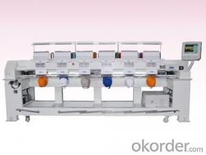 COMPUTERIZED TUBULAR EMBROIDERY MACHINE - 2-12 HEAD