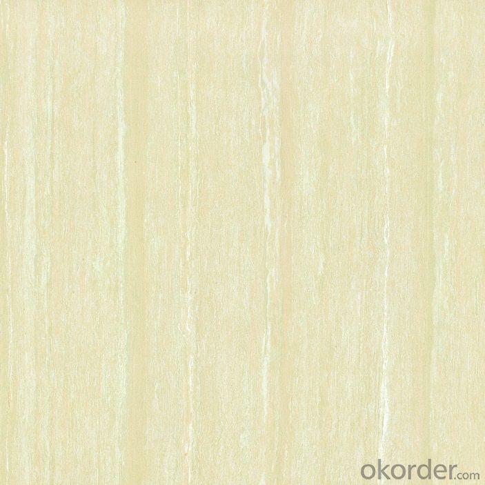 Polished Porcelain Tile Wooden Line Stone  Serie CMAXWL001