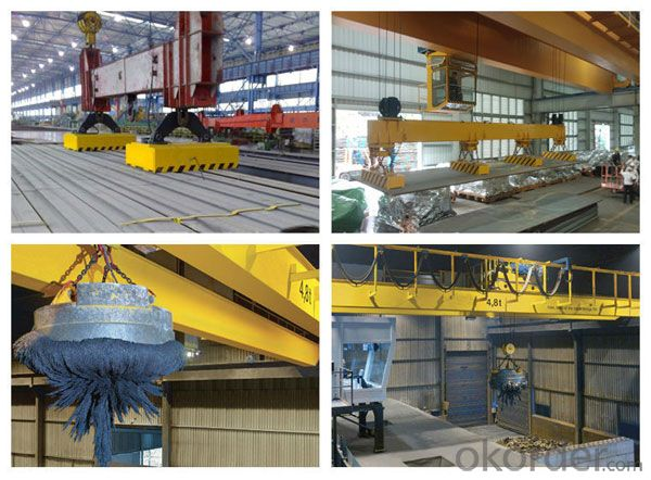 Industrial Equipment QL Overhead Crane with Magnet