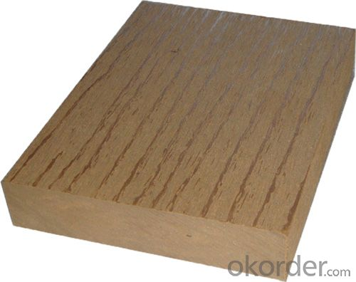 Solid Wpc Decking Flooring