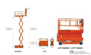 Full Electric Walkie Scissor Aerial Work Platform(electric motor)-JCPT