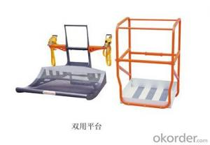Electric Aluminium Work Platform(single mast)-double duty-AMWP1000