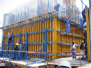 Robust Waterproof Aluminum Concrete Climbing Building Formwork System
