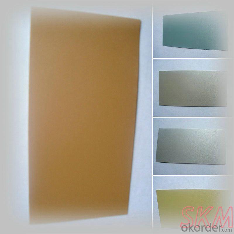Metallic color prepainted aluminium rolls