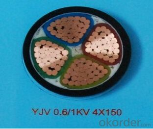 ZHONGMEI XLPE lnsulated Power Cable YJV 0.6/1KV 4X150