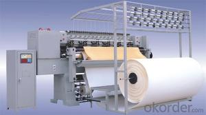 HIGH SPEED COMPUTERIZED MULTI  NEEDLE QUILTING MACHINE