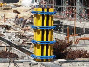 Waterproof Steel Concrete Wall Formwork for Straight Wall