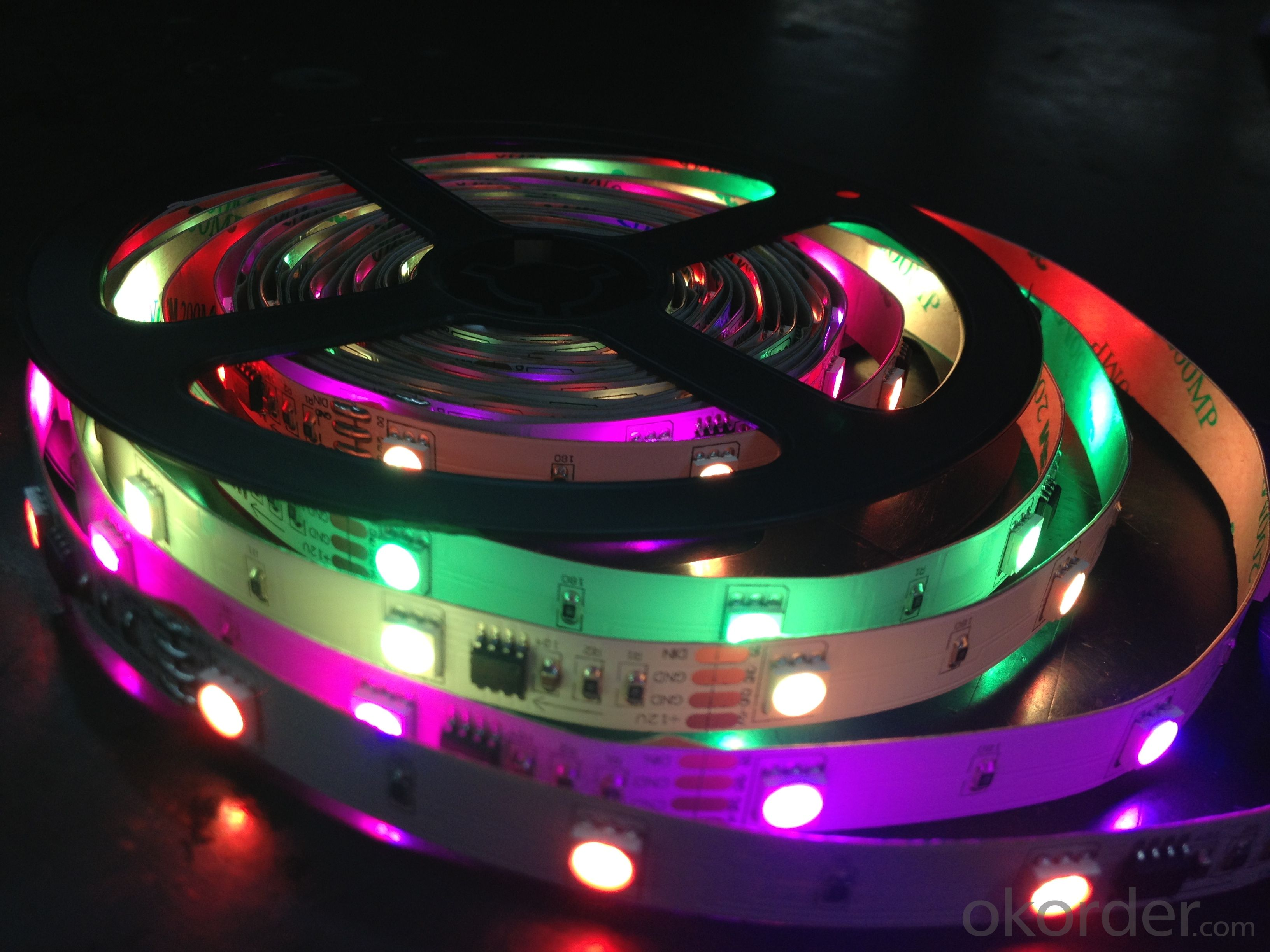 DC12V Led Strip Light RGB color