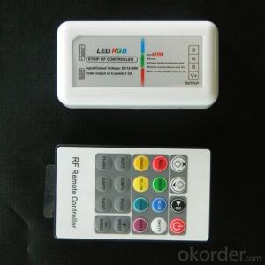 Plastic RF 20 Keys RGB controller