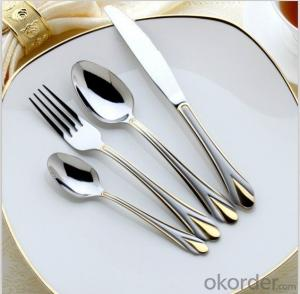 classical stainless steel cutlery