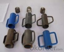 scaffolding steel pipe support props nuts