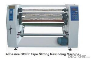 Adhesive BOPP Tape Slitting Rewinding Machine