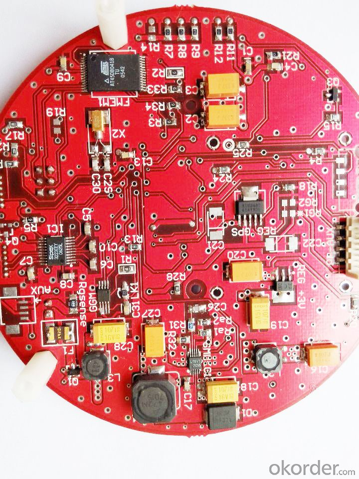 Immersion Gold Electronic PCB 4 Layer
