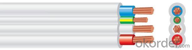 Flat TPS Cable PVC 450/750V 3C+E Copper AS/NZS 5000.2