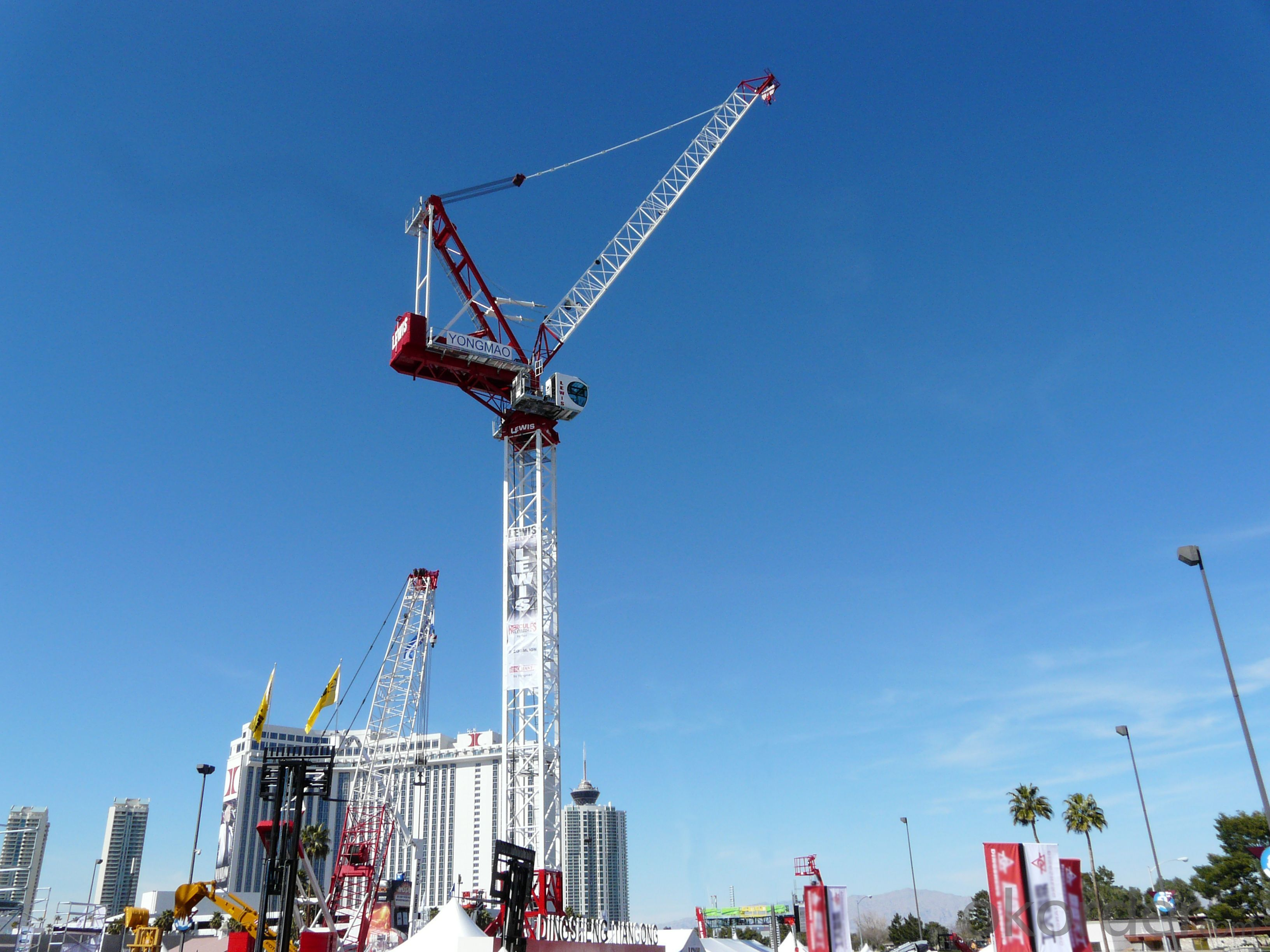 Buy Yongmao Stl420a Tower Crane Price Size Weight Model
