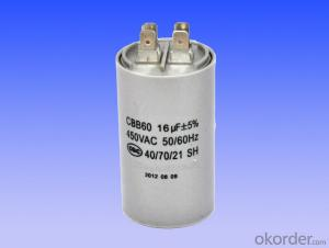 grey plastic can  motor running capacitors