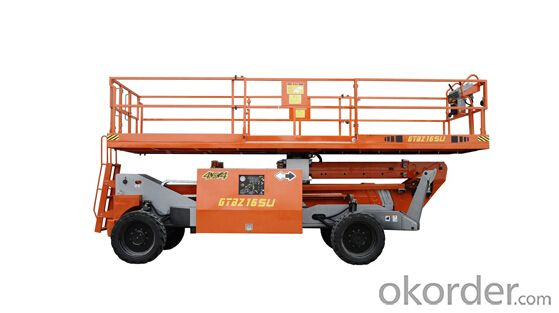 Self-Propelled Telescopic Boom Lifts-GTBZ16SU