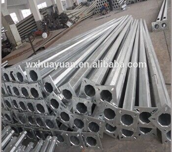 hot dip galvanised staff