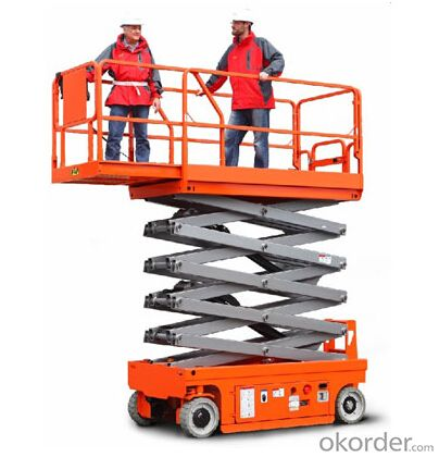 Full Electric Walkie Scissor Aerial Work Platform(electric motor)-JCPT(DC) series